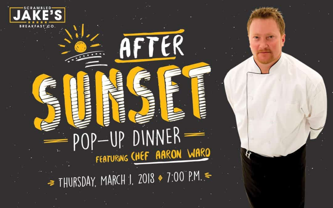 Chef Aaron - After Sunset Pop-Up Dinner